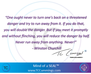 A great quote by Winston Churchill